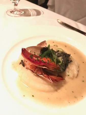 Restaurant Gary Danko: lobster