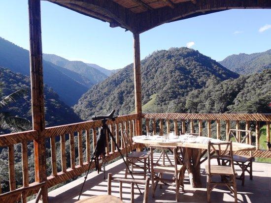 Tandayapa, Ecuador: 2017 Brand NEW Open Air Restaurant overlooking Canopy