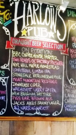 Peterborough, Nueva Hampshire: Draught Beer Selection on Rotation