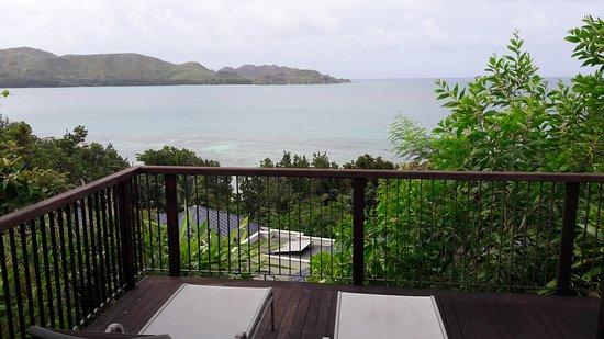Raffles Seychelles: Номер с видом на океан