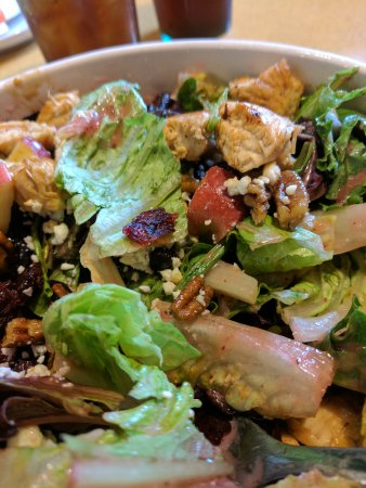 Portland, IN: Pecan chicken salad. Delicious.