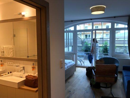 Unterach am Attersee, Austria: Aussicht einmalig , Ruhe,das Personal sehr aufmerksam , ein professionelles Familien betrieb , f
