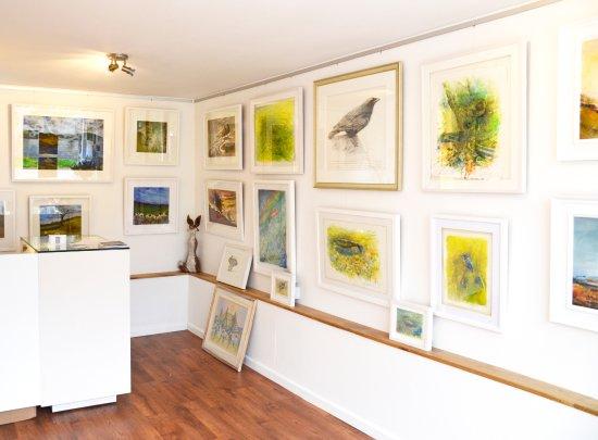 Horrabridge, UK: Robin Armstrong's work at Wildwood