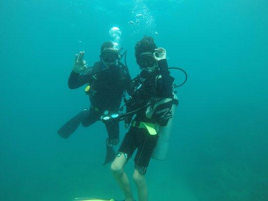 Taganga, Colombia: a 10 mt de profundidad