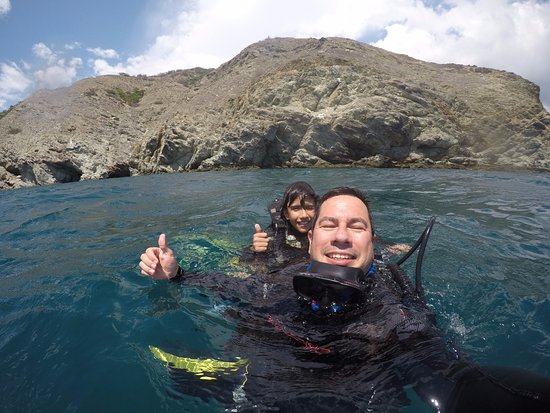 Taganga, Colombia: terminando la segunda inmersion
