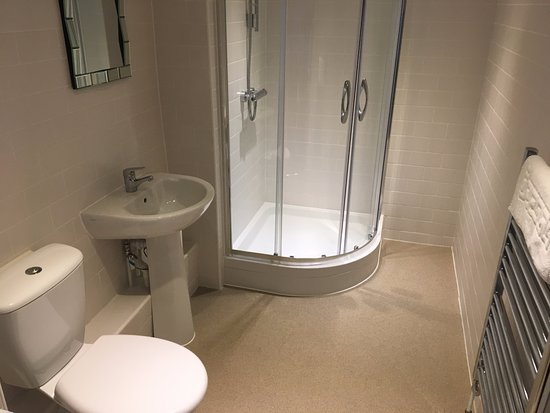 Castle Cary, UK: letting room shower room