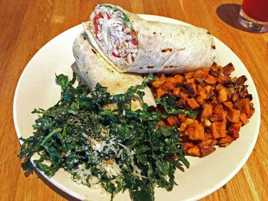 Smoked Turkey Wrap At True Food Kitchen In Fairfax Va Wes Albers
