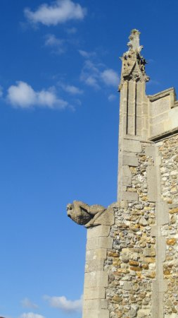 Detail of Thaxted Church