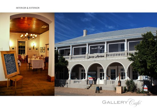 Prince Albert, South Africa: Gallery Café Interior & Exterior