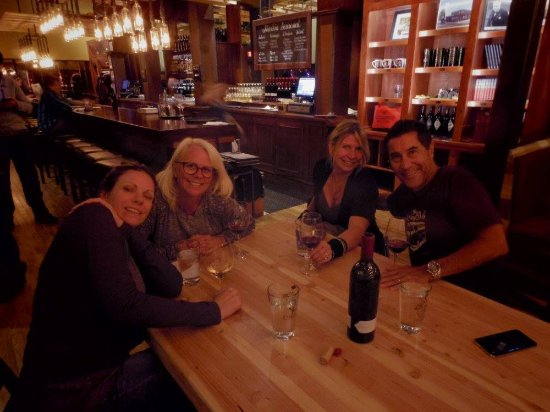 Locals enjoying wine at Merkin Osteria - Picture of Merkin