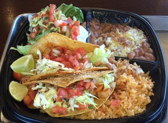 Carmichael, Californië: Taco Plate