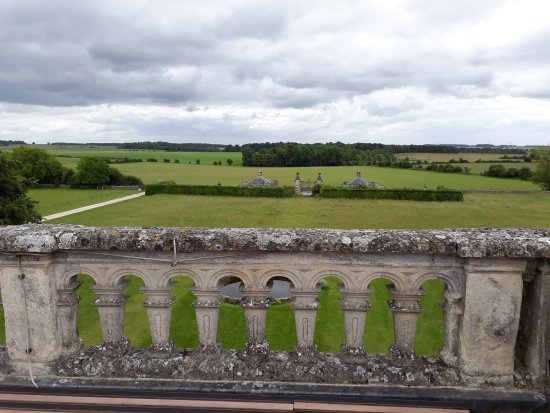 Northleach, UK: View from roof viewing balcony