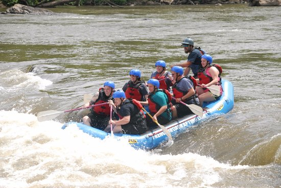 Marshall, NC: French Broad Adventures White Water Rafting June 2017