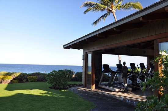 Halii Kai Resort at Waikoloa Beach: The best work out area ever