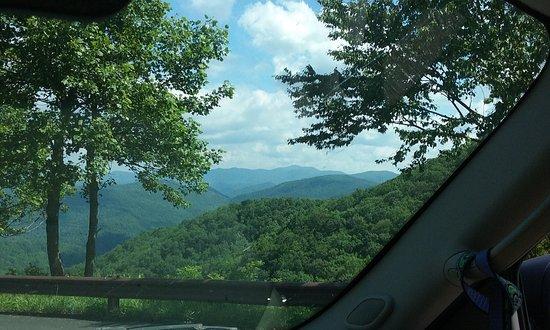 Blairsville, GA: Amazing scenery.  Handicap accessible