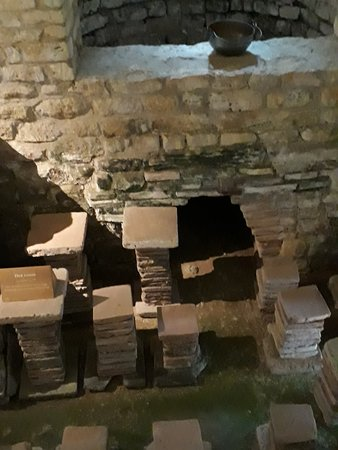 Yanworth, UK: Hypocaust