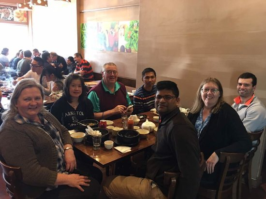 Glen Waverley, Australia: Our final team lunch