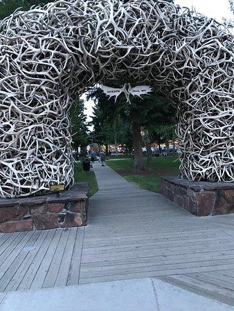 Town Square: Elk Antler Entrance