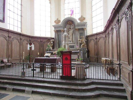 Hautvillers, France: autel