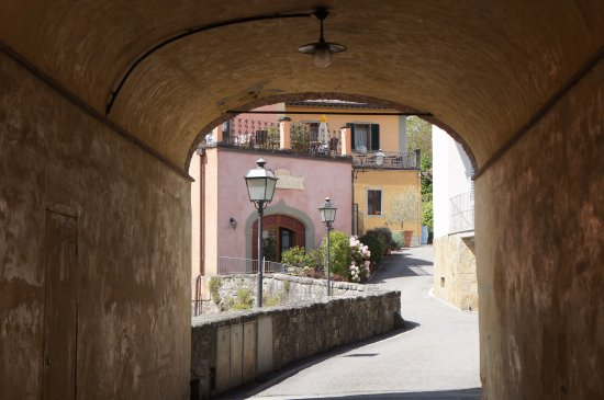 Greve in Chianti, Italy: Off the main square