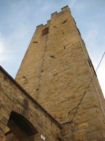 Valfabbrica, Italy: Tower perspective