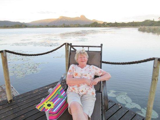 Mkuze, Sudáfrica: Beware of the crocodiles!