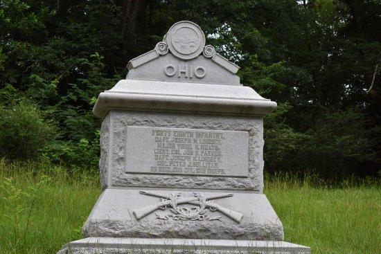 Vicksburg National Military Park: Ohio monumnet (one of many)
