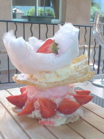 Signes, Frankrig: excellent dessert