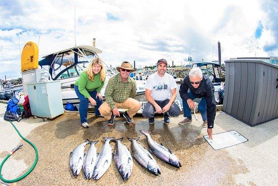 Campbell River, Kanada: great fishing trip