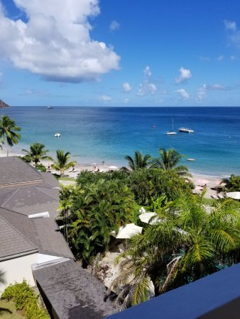Cap Estate, St. Lucia: view from our room