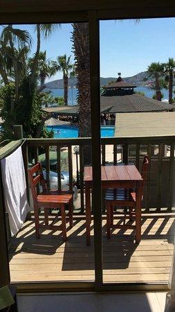 Parkim Ayaz Otel: Room 113 Balcony