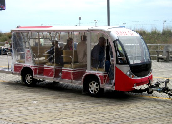 Atlantic City Boardwalk Tram Service