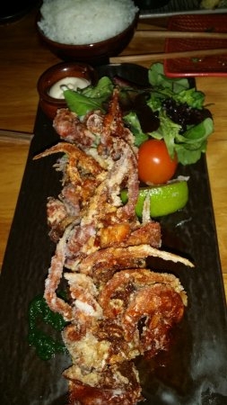 Mermaid Beach, Αυστραλία: SOFT SHELL CRAB