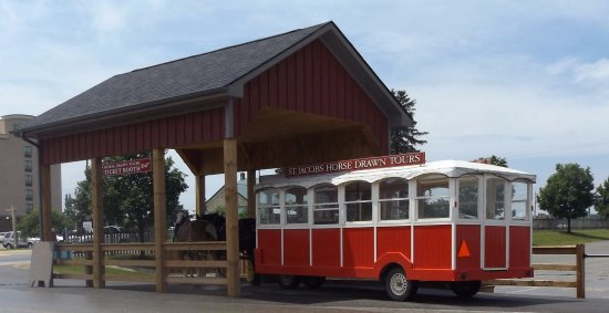 St. Jacobs, Canadá: Trolly horse rides