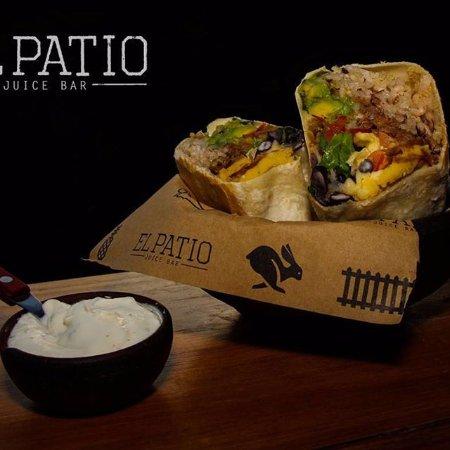 El Patio: Burrito XL