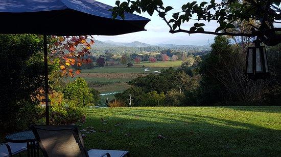 Bellingen, Australien: View from the lounge across the valley