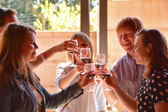 Langley, WA: Enjoy wine tasting with friends at Whidbey Island's largest vineyard