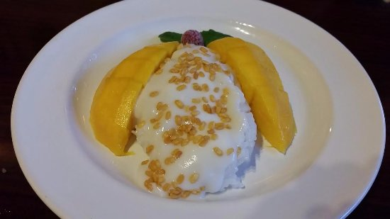 Silver Spring, MD: Coconut Sticky Rice with Mango