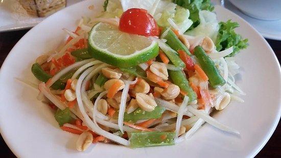 Silver Spring, MD: Papaya Salad