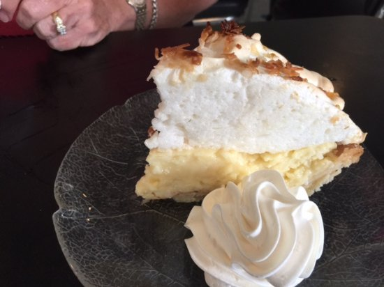Mathews, VA: Coconut cream pie