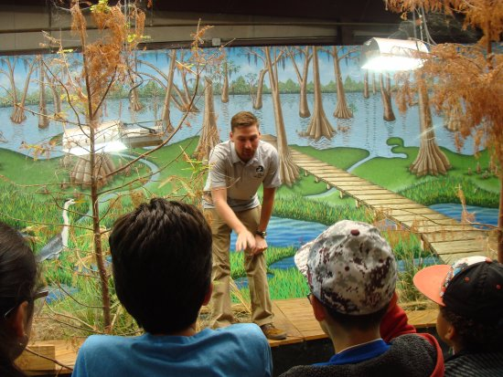 Baytown, Teksas: Naturalist talk