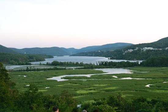 Cold Spring, NY: View from the Boscobel grounds during pre-show picnic dinner