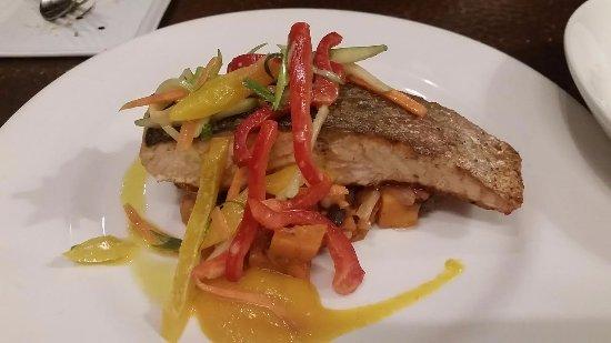 Bel Air, MD: Crispy Salmon (winter menu)
