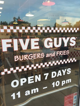King George, VA: Five Guys!!!