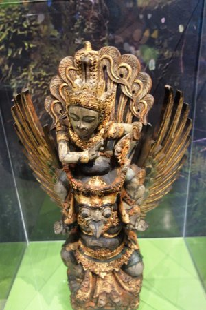 San Diego Museum of Man: Garuda (Indonesia) that wards off monsters
