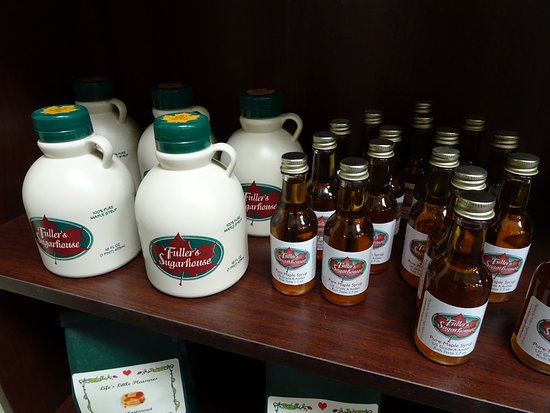 Concord, NH: Maple syrup