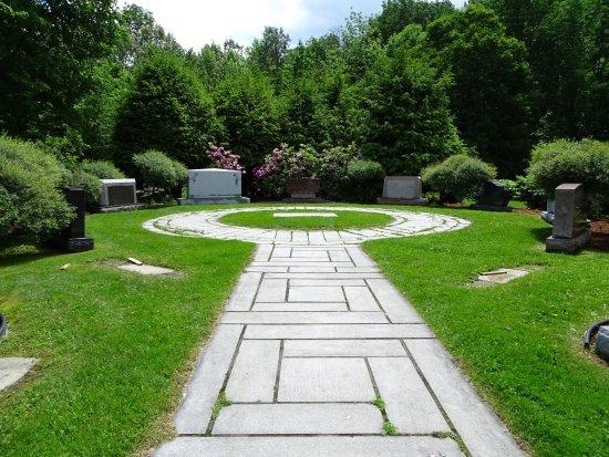 Barre, Βερμόντ: tombstone garden
