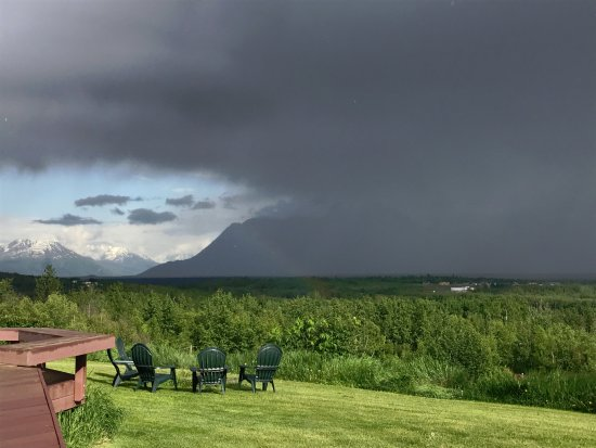 Wasilla, AK: Can you see the rainbow?