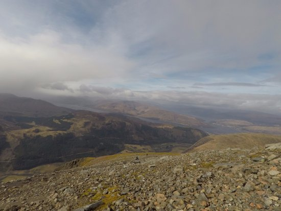 Ben Nevis: view on the way up