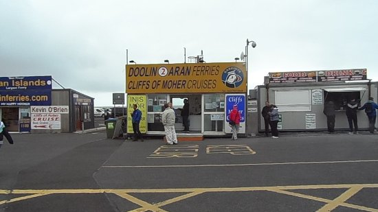 Doolin2Aran Ferries: Doolin2Aran ferry building